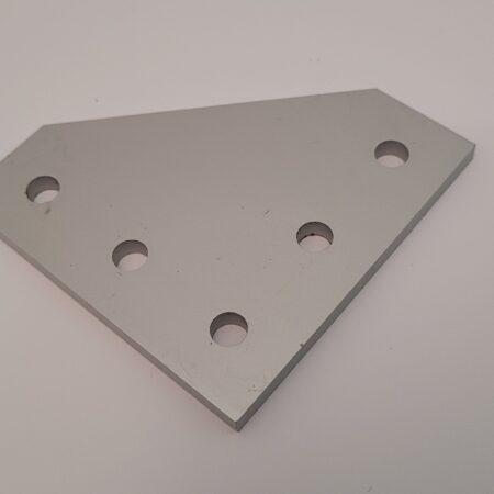 Aluminium corner bracket T-slot connector