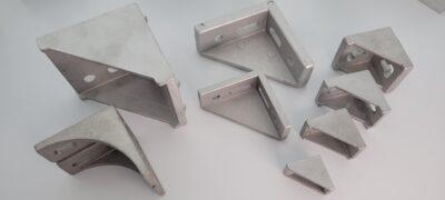 die cast corner brackets for T-slot aluminium profiles