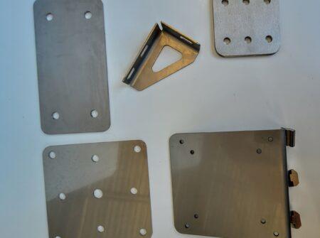 Custom made T-Slot mounting plates