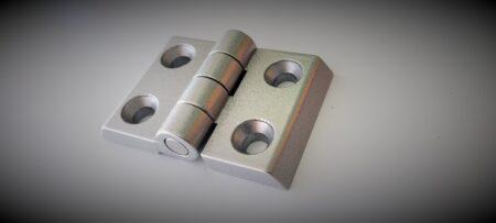Aluminium hinge for T-Slot profile projects