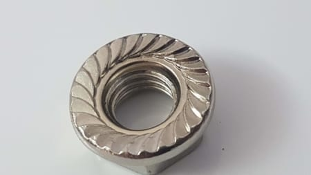 T Slot profile flange nut