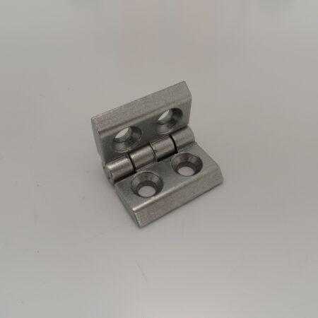 Aluminium hinge for T-Slot profile projects