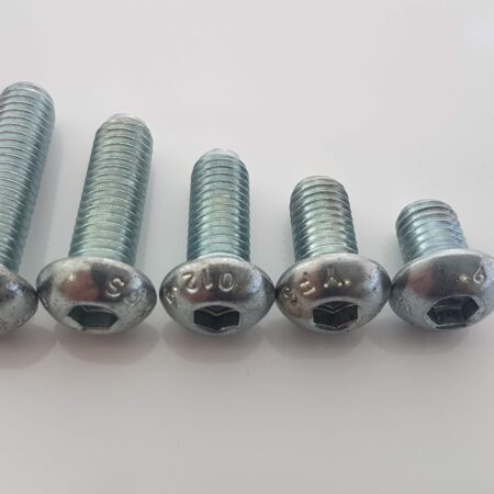 Button head cap screws for connecting T-Slot Aluminium profiles