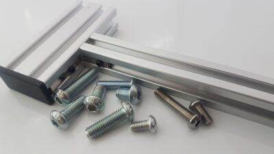 T-Slot aluminium profile button head cap screws