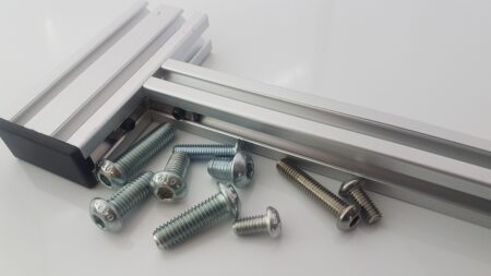 T-Slot aluminium profile button head cap screws