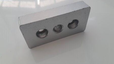 T slot aluminium extrusion end cap