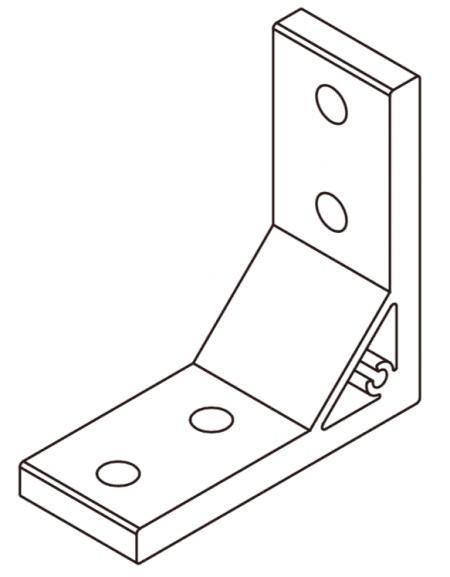 extrusion Aluminium corner bracket