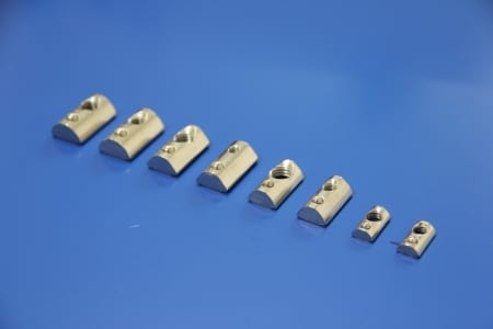 T slot accessories roll in spring nut