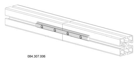Aluminium Profile Linear joint - 180mm