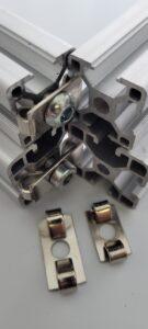 T-Slot aluminium spring fastener