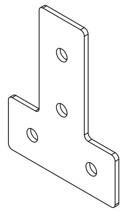 T-Plate 8020 T-slot accessories