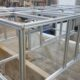 Aluminium framework for camper vans