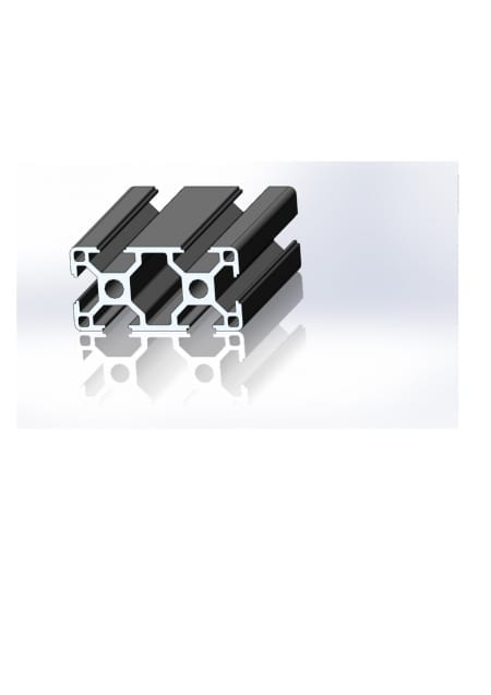 30x60 T slot aluminium profile