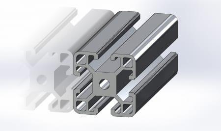 40x40 T Slot Aluminium Profile