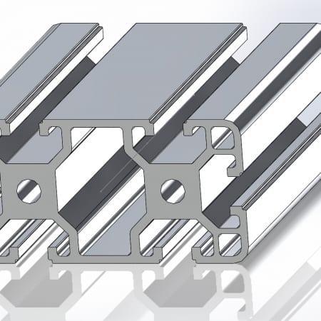 T slot Aluminium Profiles