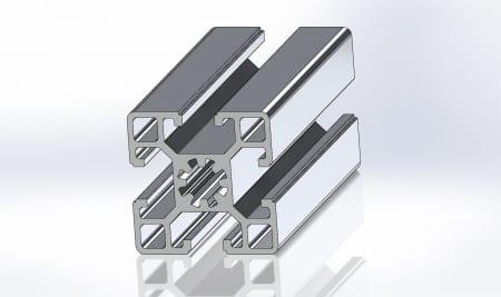 45x45 Extruded Alumi