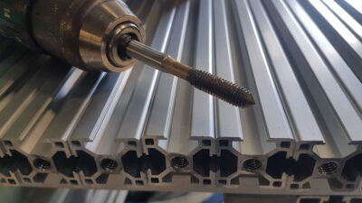 T-Slot aluminium drill and tap
