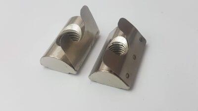 T slot aluminium 8020 spring nut