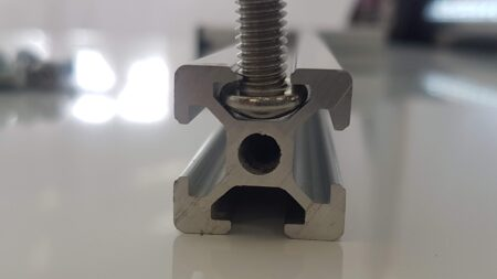 Aluminium T-Slot profile extrusion button head bolt