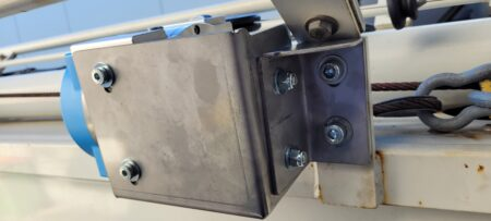 custom made stainless brackets for T-Slot DIY projects