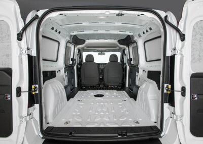 Cargo van fitout