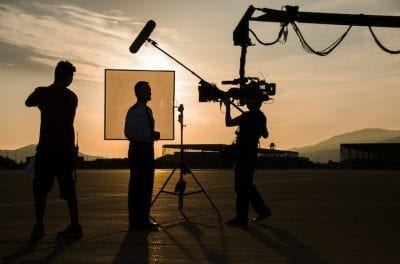 equipment for movie industry